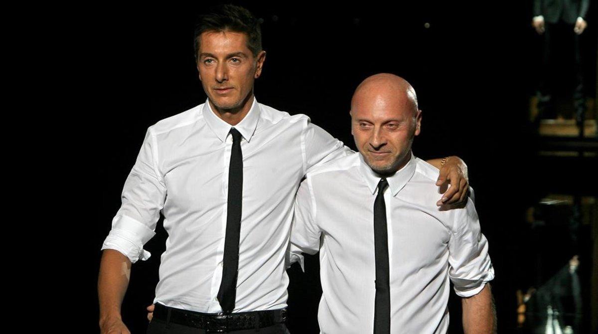 Foto de archivo de Domenico Dolce y Stefano Gabbana.