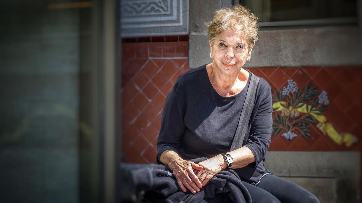 La escritora neoyorquina Vivian Gornick, en el CCCB.