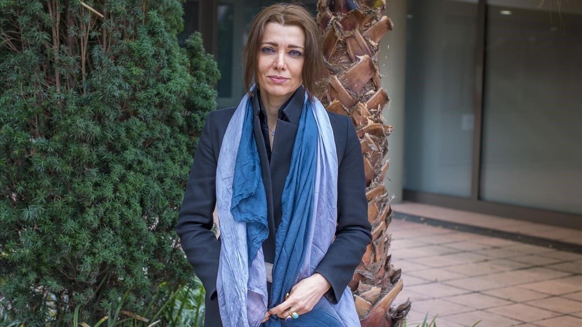 La escritora turca Elif Shafak.
