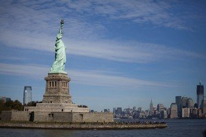 La Estatua de la Libertad, en una foto de archivo.