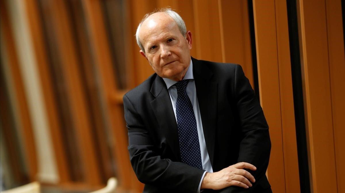 El expresidente de la Generalitat José Montilla, en Barcelona.