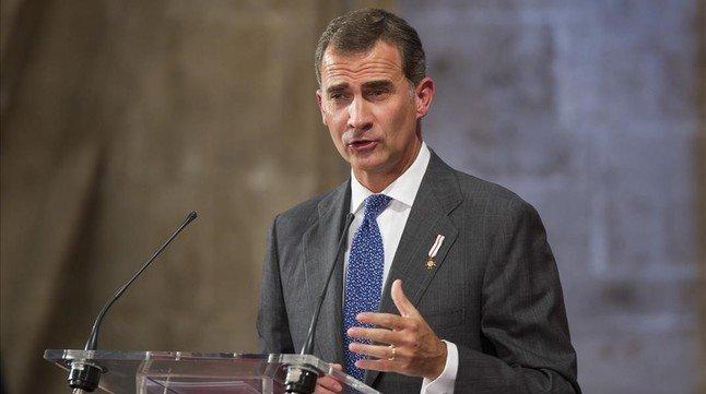 Breda declara persona 'non grata' al rey Felipe VI