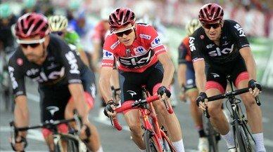 El Giro de Italia recela de Chris Froome