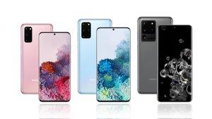 Nuevos Galaxy S20 de Samsung.