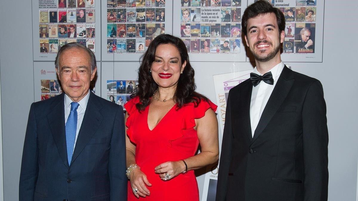 Gregorio Marañón, Nancy Fabiola Herrera y Carlos Pachón.