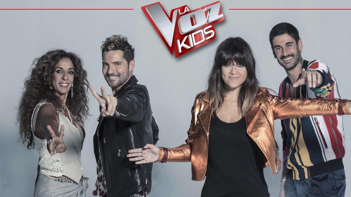 Antena 3 estrena 'La voz kids' el próximo lunes 16 de septiembre con doble gala semanal
