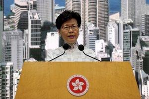 Hong Kong suspèn la llei d'extradició després de l'onada de protestes ciutadanes
