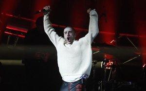 Husky, cantante de hip hop, uno de los más populares en Rusia.