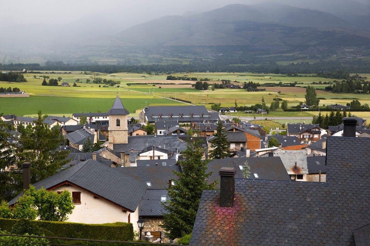 Imagen de Alp, uno de los municipios de la Cerdanya.
