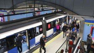 Imágenes del Metro de Madrid.