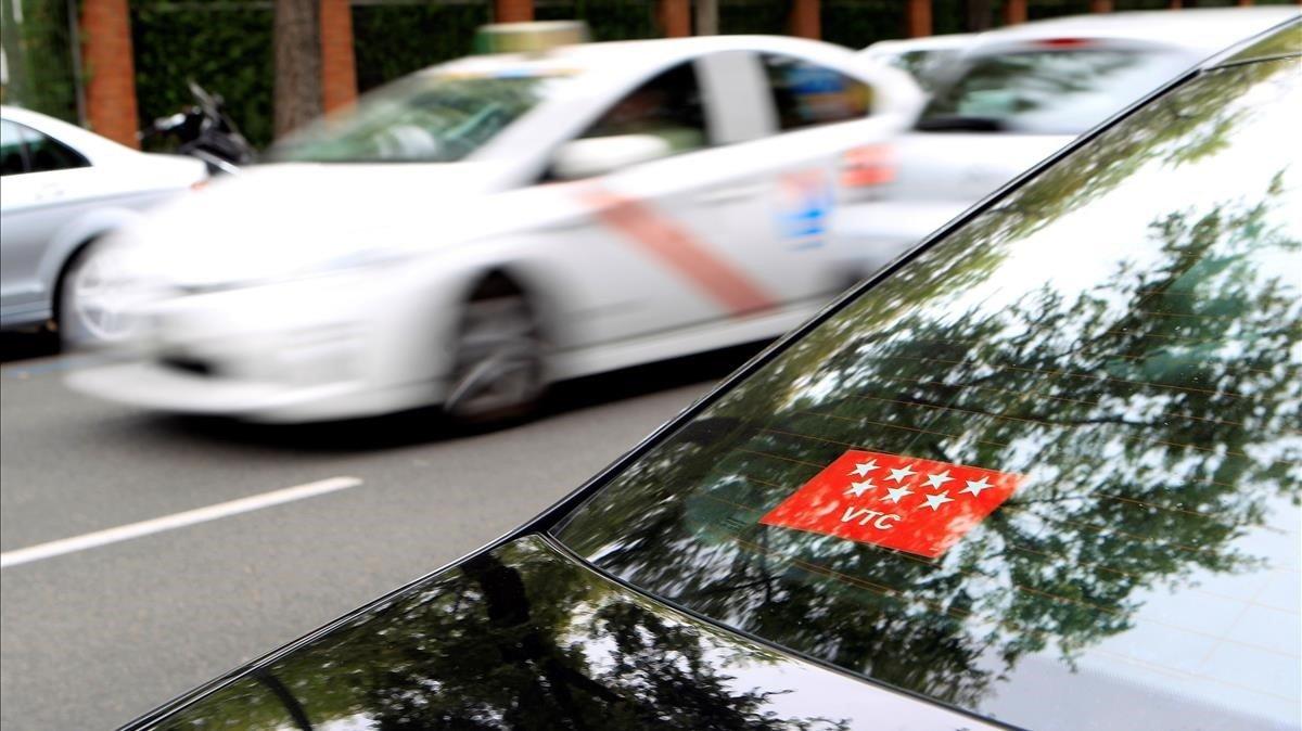 Competència: el projecte d'ordenança VTC de Madrid és «discriminatori»