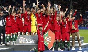 Portugal no deixa passar l'oportunitat a casa