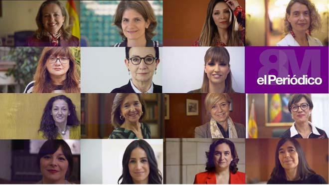 'Nosaltres': 15 dones dempeus