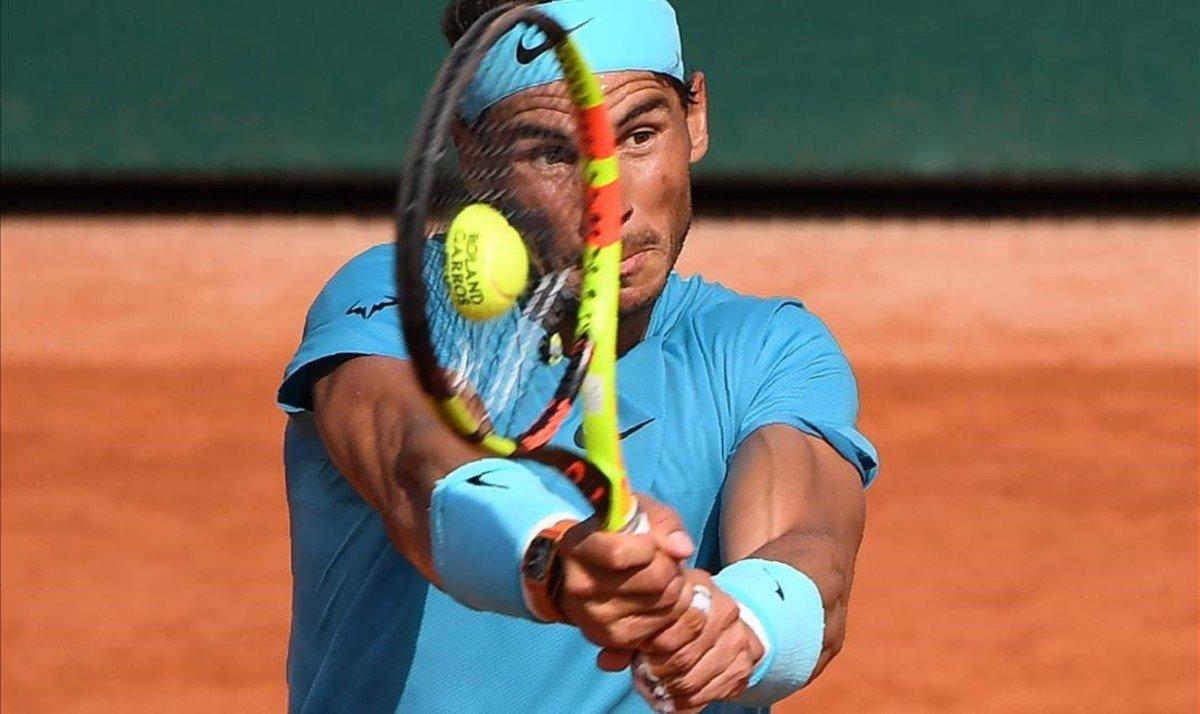 Nadal apunta a l'onzena a Roland Garros