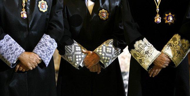 Jueces del Tribunal Supremo, en una imagen de archivo.