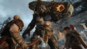 El juego God of War para PS4.