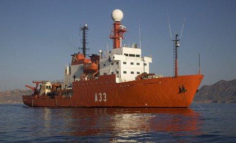L'Hespérides és l'únic vaixell d'Investigació Oceanogràfica espanyol dissenyat per a la investigació multidisciplinàriaa tots els mars i oceans del planeta, fins i tot per les Zones Àrtiques i Antàrtiques.