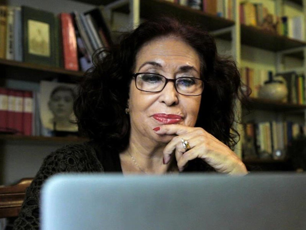 Lidia Falcón. Va impulsar el Partit Feminista d'Espanya (PFE) l'any 1975