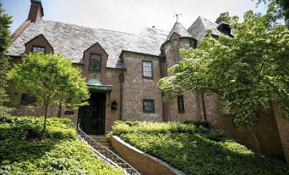La casa de los Obama en Washington.