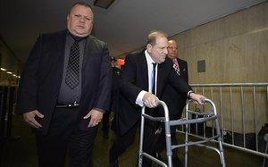 Harvey Weinstein, a su llegada a la Corte Criminal de Nueva York, el pasado 11 de diciembre.