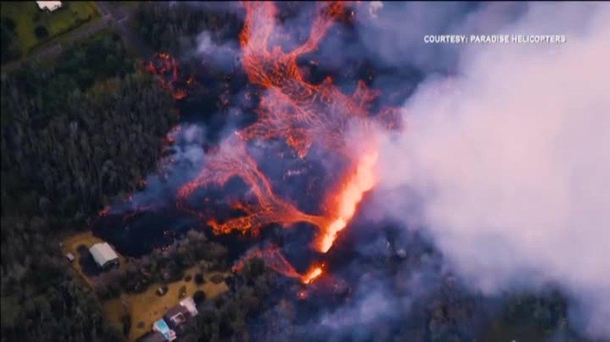 El Kilauea es uno de los volcanes más activos del mundo.