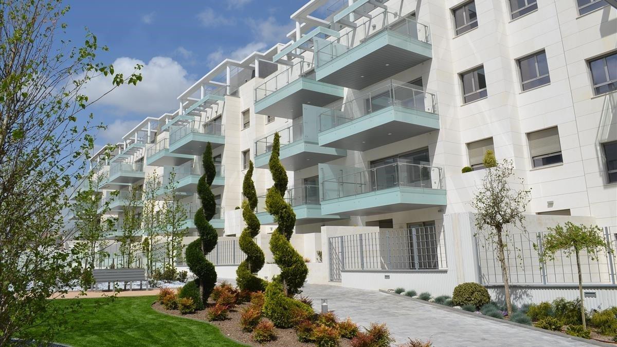 Promoción de viviendas de Pryconsa en Madrid.