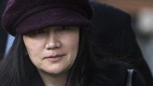 Meng Wanzhou, directora financiera e hija del fundador de Huawei.