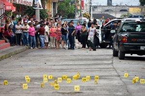 Aumentan los asesinatos en México.