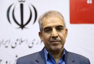 El ministro iraniano Golzari, durante la presentación de la web.