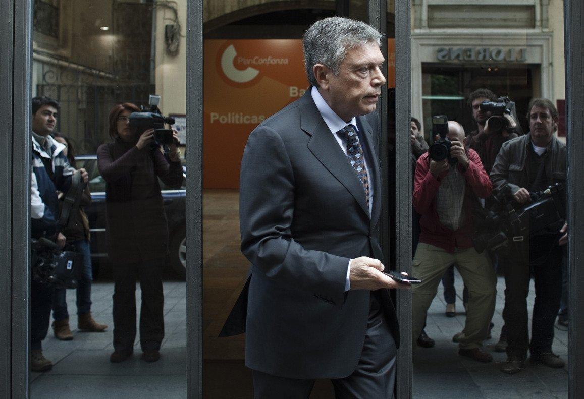 Modesto Crespo, expresidente de la Caja de Ahorros del Mediterráneo.