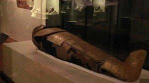 Momia del médico y sacerdote Nespademu, analizada en el MAN.