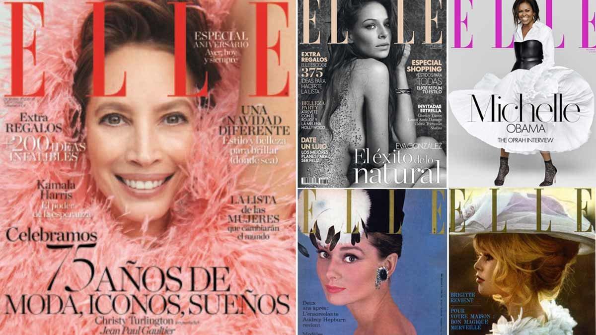 'Elle' celebra el seu 75è aniversari amb una exposició històrica