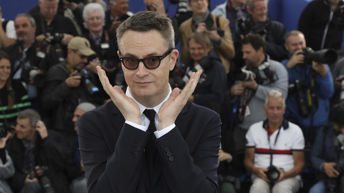 Nicolas Winding Refn, fotografiado en Cannes tras presentar 'Too old to die young'