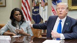 Omarosa y Trump.