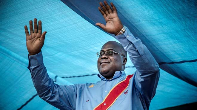 El opositor Tshisekedi gana las elecciones presidenciales en el Congo.