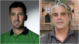 El infectólogo delHospital Can Ruti de Badalona, Oriol Mitjà, y el coordinador de la Unidad de Seguimiento de la covid en Catalunya, el epidemiólogo Jacobo Mendioroz.