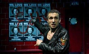 Pablo Derqui, en el espectáculo'Com els grecs', en el Teatre Lliure.