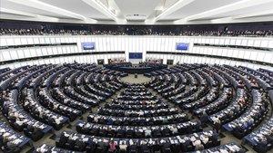 El Parlamento Europeo, durante una sesión plenaria en Estrasburgo.
