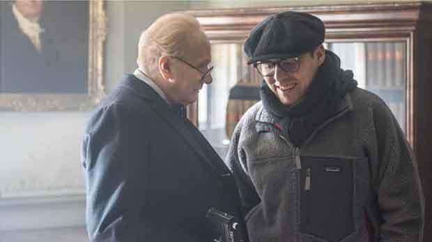 La película El instante más oscuro estáprotagonizada por un irreconocible Gary Oldman.