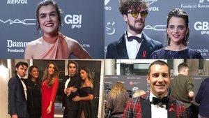 Las celebrities se unen en la lucha contra el sida durante la People in Red