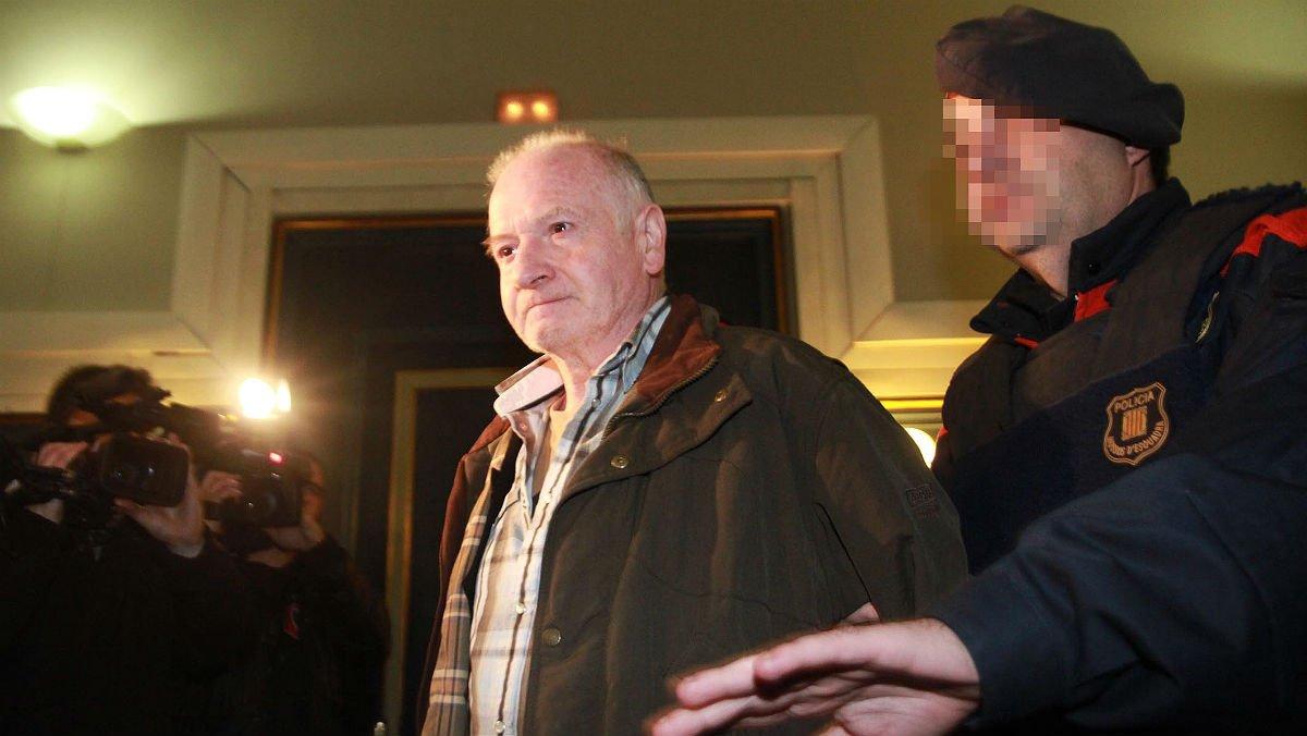 Pere Puig Puntí, durante el juicio por los cuatro asesinatos que cometió, en Girona en diciembre del 2012.