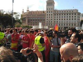 L'Ajuntament torna a multar Barcelona amb la Selecció per la instal·lació d'una pantalla gegant durant l'Eurocopa