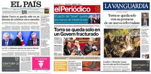 Prensa de hoy: Las portadas de los periódicos del viernes 18 de octubre del 2019