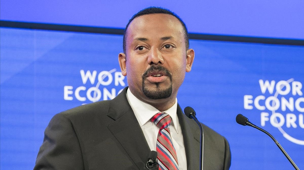 Primer ministro etíope, Abiy Ahmed.