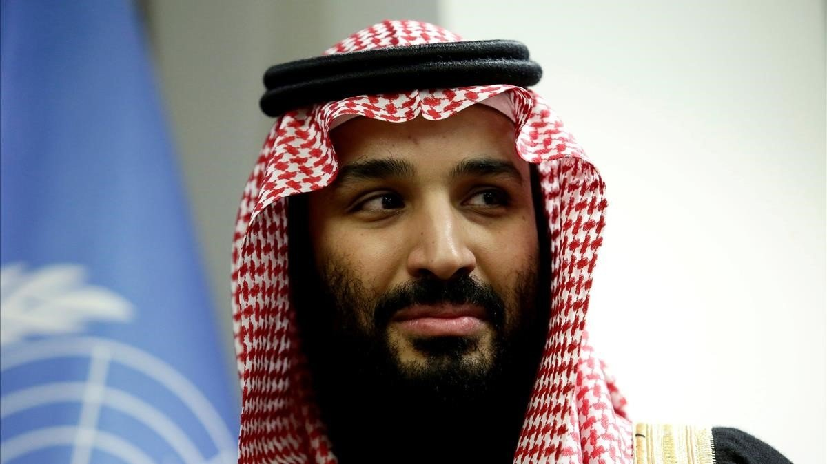 El príncipe heredero Mohammed bin Salman