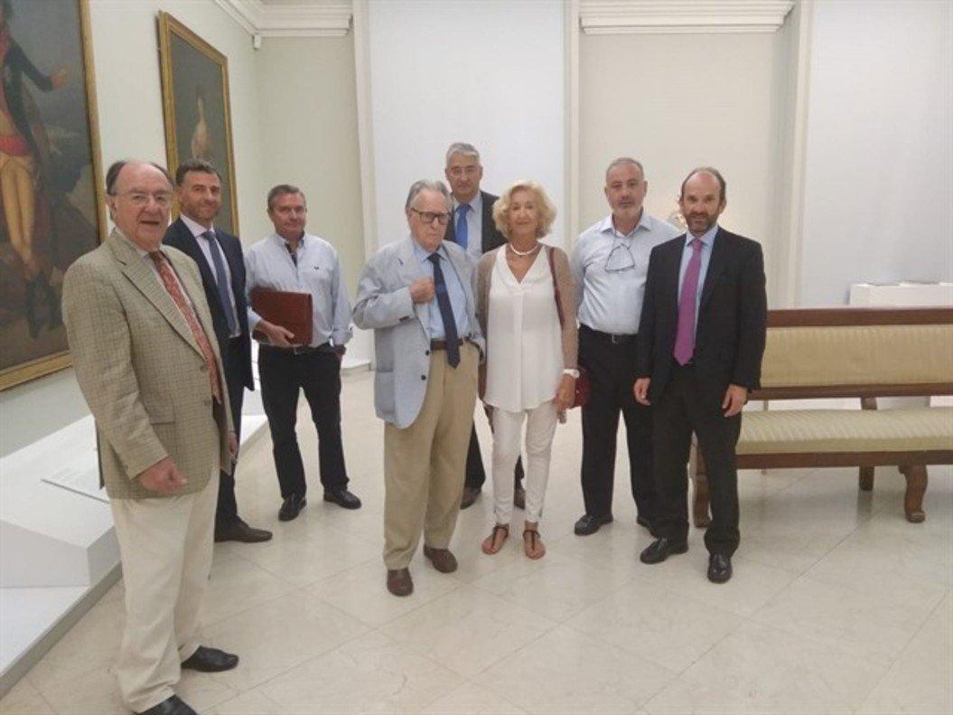 Representantes del Ayuntamiento, Comunidad de Madrid y Centro Canillejas.