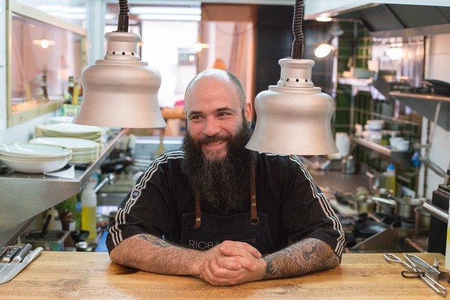 Eduardo, 'Luli',Marchesi, chef del restaurante Rioba.
