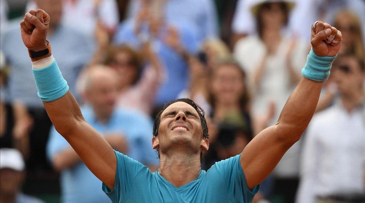 Un Nadal inexpugnable s'emporta l''onzena' de Roland Garros