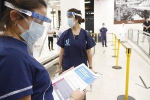 La pandemia de COVID-19 se extiende por más zonas del país.