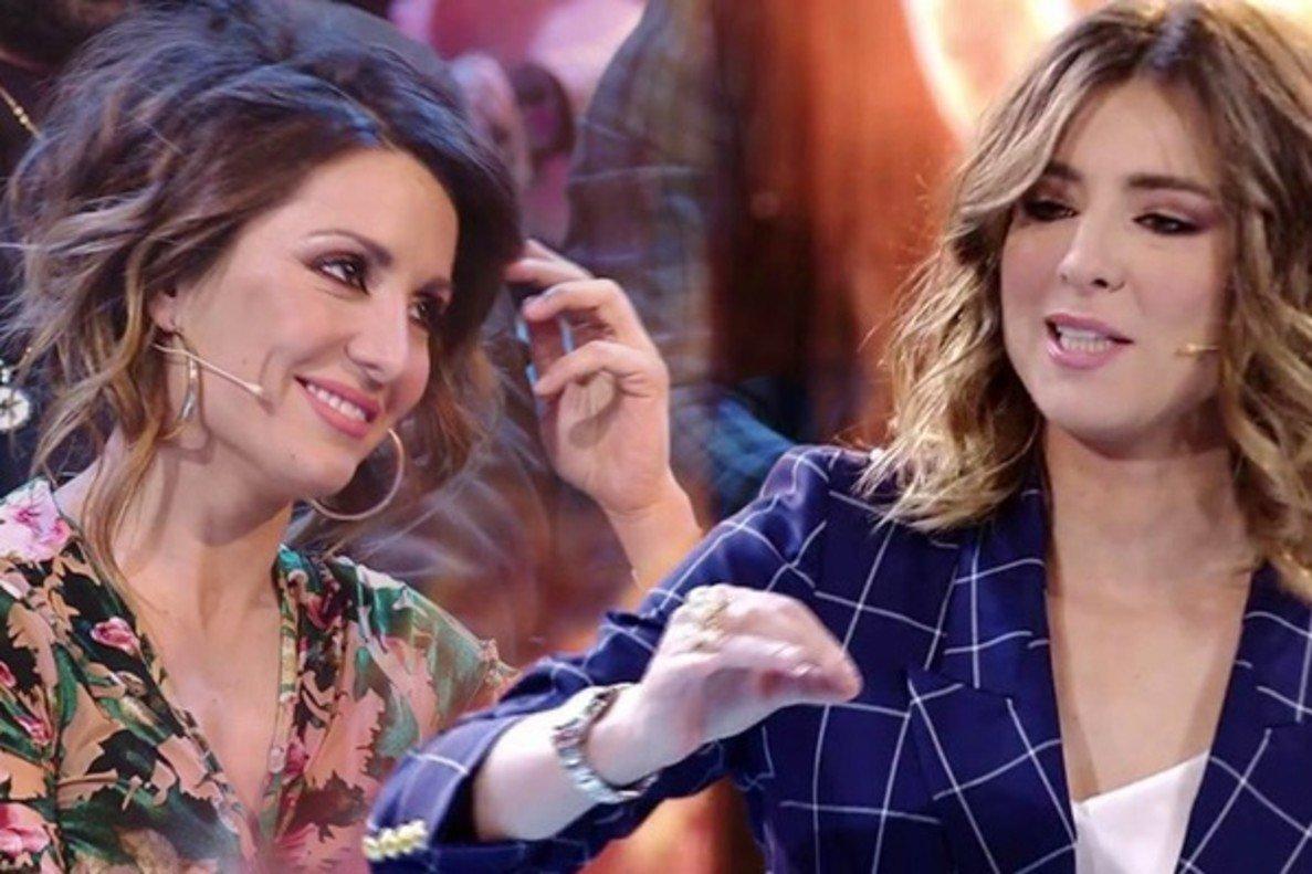 """La """"romántica"""" propuesta de Sandra Barneda a Nagore Robles en directo"""